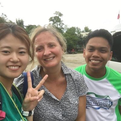 フィリピンで日本語教育 中野琴星